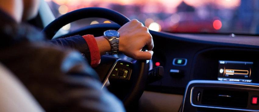 driving sedan