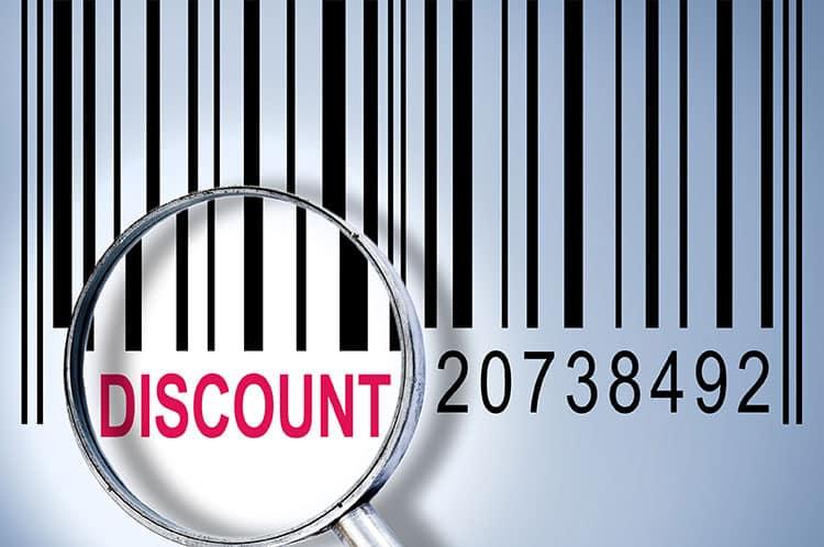 find discount