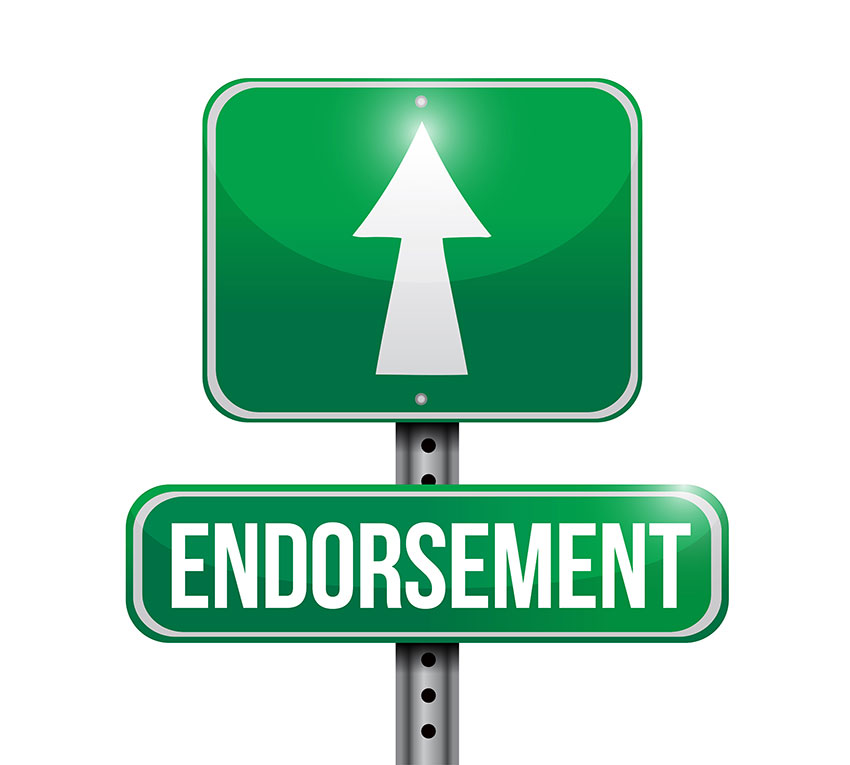 endorsement
