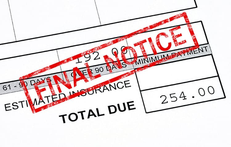 insurance final notice