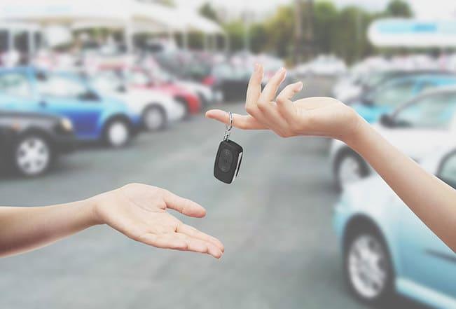 borrowing car