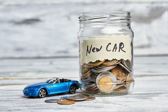 save on new car