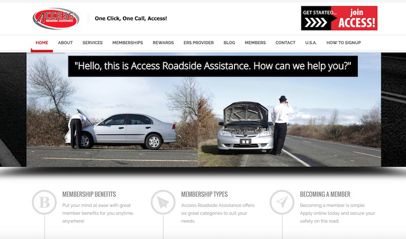 Access Roadside Assistance Canada