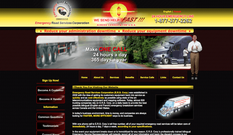 Emergency Road Services Corporation Review
