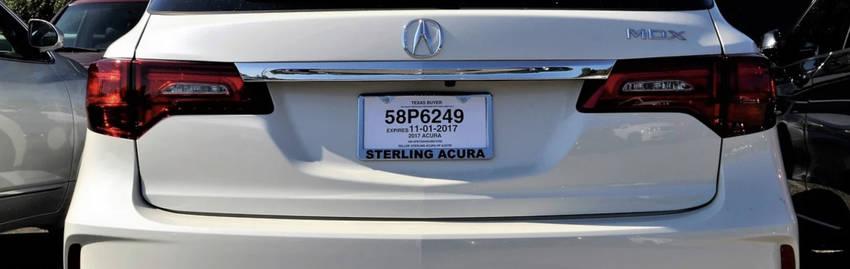 Acura mdx Rear