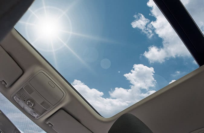 glass sunroof