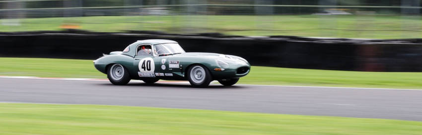 Jaguar modified Race Car