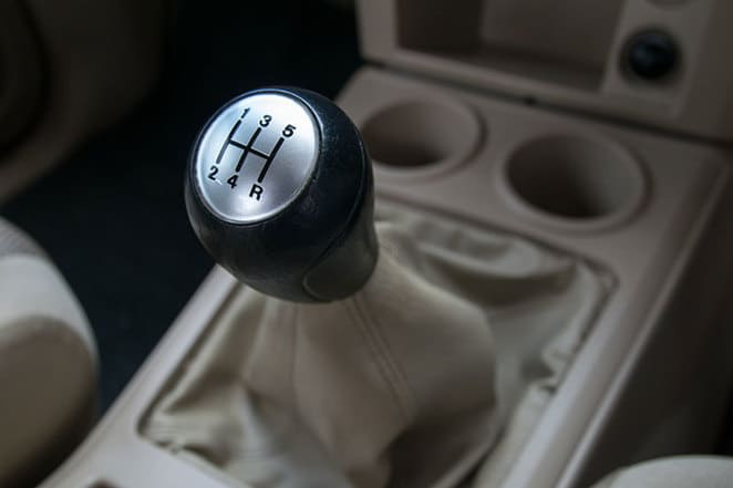 manual transmission gear shift