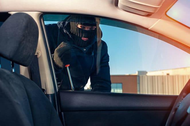 stoling car
