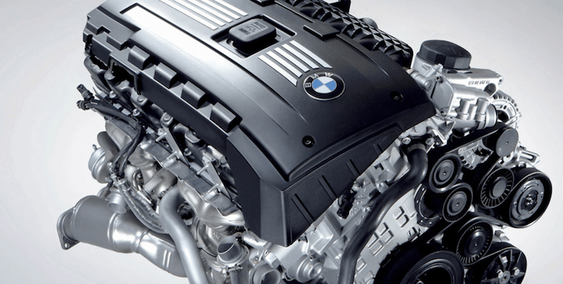 BMW Twin-Turbocharged 3.0-liter Inline-6