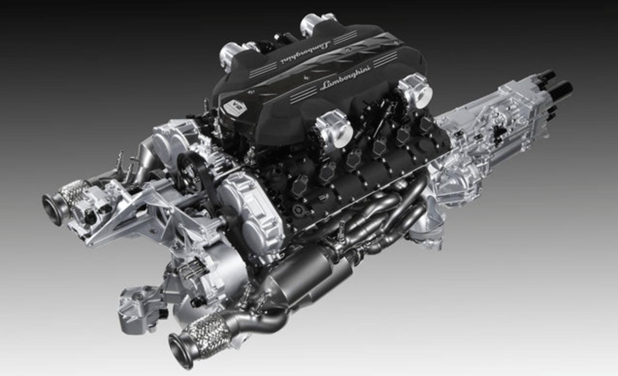 Lamborghini 6.5-liter V-12