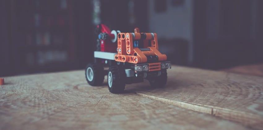 towing truck Building Blocks