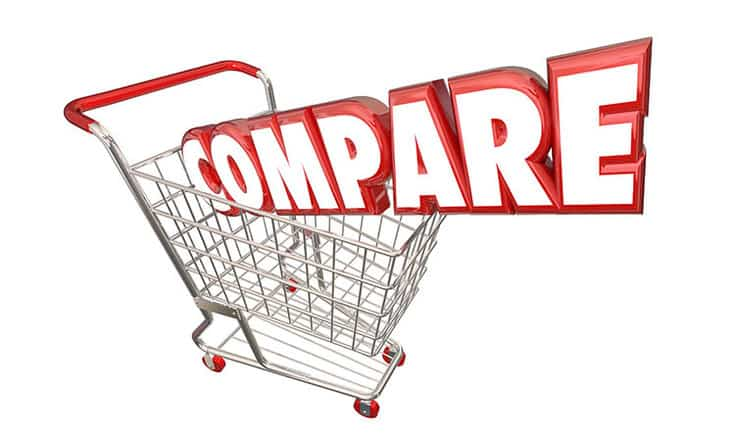 comparison shopping