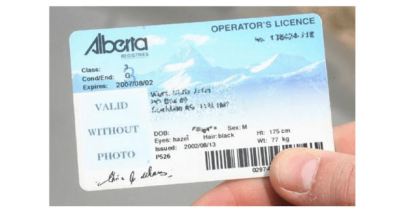 Alberta Class 7 License