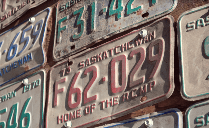 Canadian Licence Plates