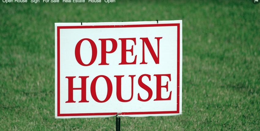 Open House Sign For Sale Real