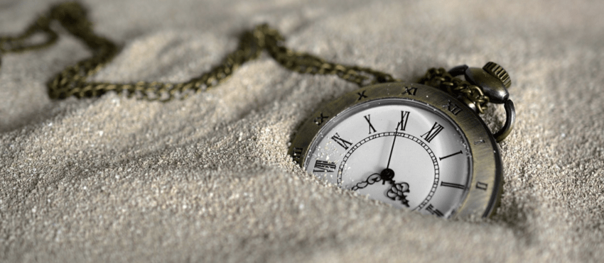 Pocket Watch Time Of Sand