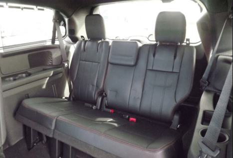 2013 Dodge Grand Caravan back seats