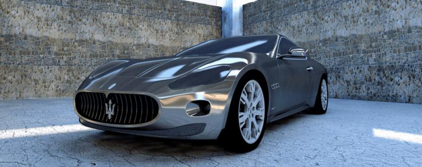 Maserati Gt Monochrome